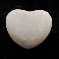 Moonstone Crystal Heart