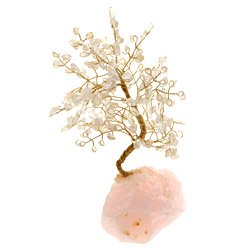Rose Quartz Gem Chip Tree ONLY £8.99