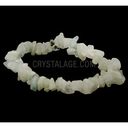 Crystal Bracelets Aquamarine Gemstone Chip Bracelet