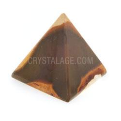 Mookaite Crystal Pyramids