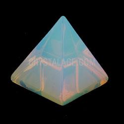 Opalite Crystal Pyramids