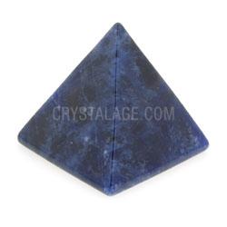 Sodalite Crystal Pyramids