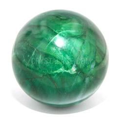 African Jade Medium Crystal Sphere