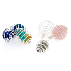 Spiral Gemstones