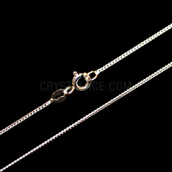 Sterling Silver Fine Flat Curb Chain