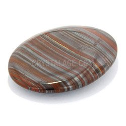 Tiger Iron Thumb Stone