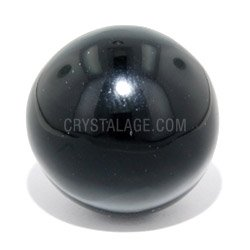 Obsidian Crystal Sphere