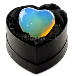 Opalite Crystal Heart Gift Box