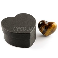 Tiger Eye Crystal Heart Gift Box