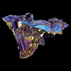 Flame Aura Quartz Crystal