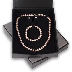 Pink Pearl Jewellery Gift Set