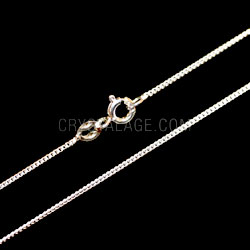 Sterling Silver Light Flat Curb Chain