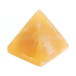 Orange Calcite Crystal Pyramid