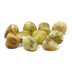 Yellow Opal Crystal Tumble Stones