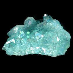 65mm Aqua Aura Quartz Crystal