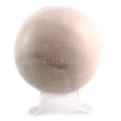 Mangano Calcite Crystal Sphere