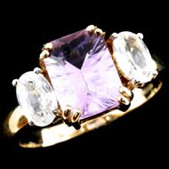 Amethyst Jewellery Ring