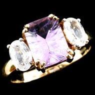 Amethyst Jewellery Ring