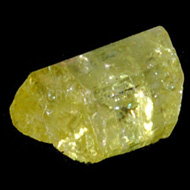 Green Apatite Crystal