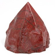 Red Jasper Crystal Generator Point