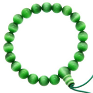 Green Cats Eye Bracelet
