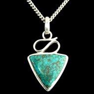 Turquoise Pendant Valentines Gift