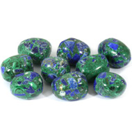 Lapis Lazuli and Malachite Tumble Stones