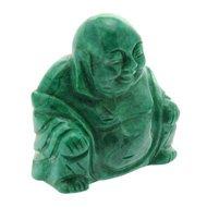 Howlite Buddha Crystal Carving