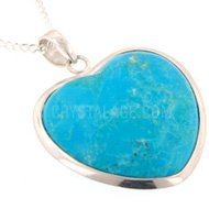 Turquoise Howlite Heart Valentines Gift