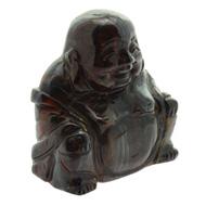 Tiger Iron Buddha Crystal Carving
