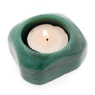 Aventurine Tea Light Holder