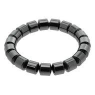Barrel Magnetic Hematite Bracelet