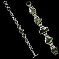 Moldavite Crystal Bracelet
