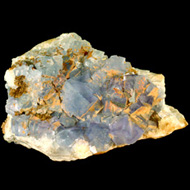 Blue Sky Fluorite Crystal 80mm