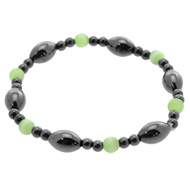 Cats Eye Magnetic Hematite Bracelet