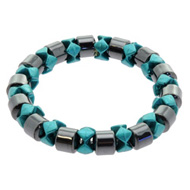 Green Magnetic Hematite Bracelet
