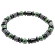 Pearl Magnetic Hematite Bracelet