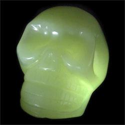 New Jade Crystal Skull