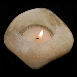 Calcite Tealight Holder