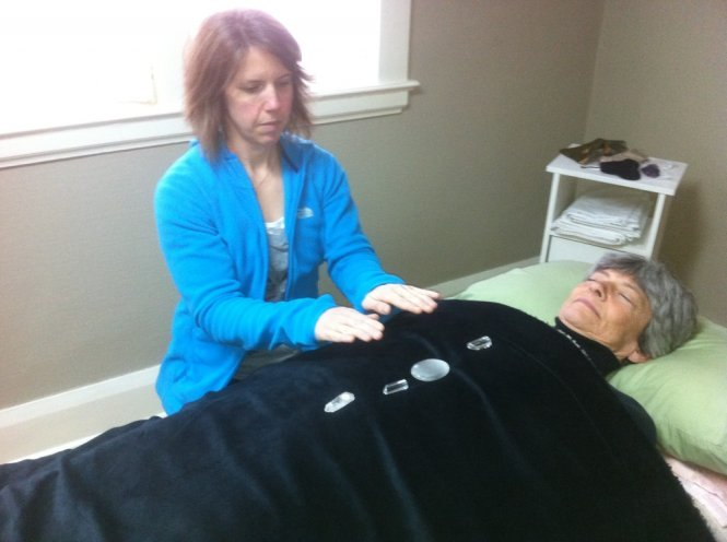 Crystals are used in Reiki Healing