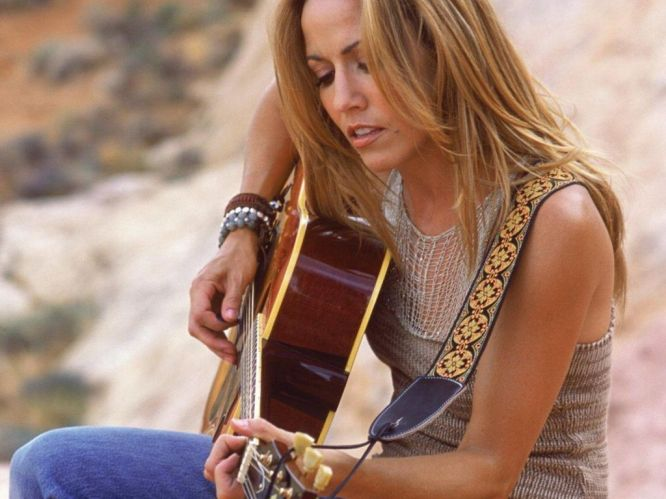 Sheryl Crow loves Citrine Crystals