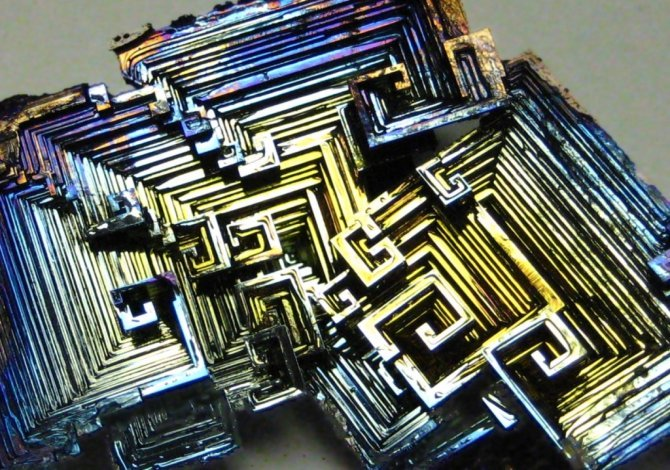 Bismuth Crystals - 2