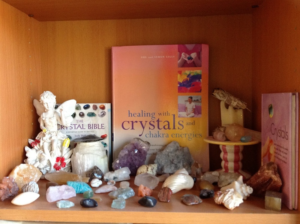 Clear a Shelf for your Crystal Collection