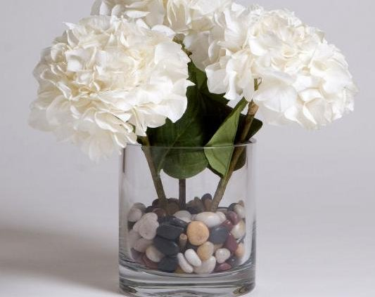 Tumblestones as Vase Fillers