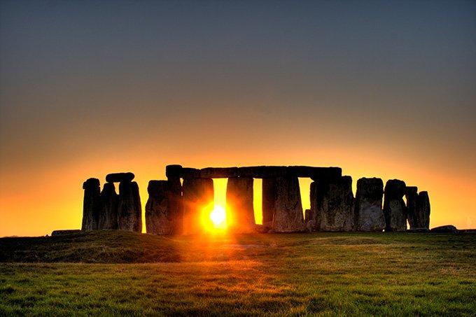 Stonehenge---Sunset
