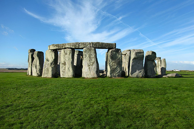 Stonehenge, one of the wonders of the world and the best-known prehistoric monument in Europe.