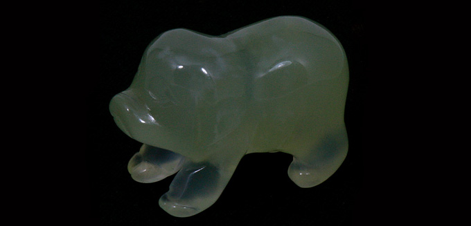 Hand Carved Pigs are a pig collectors delight!