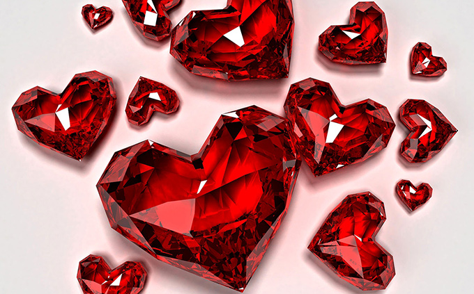 Ruby has always been associated with love, especially faithful passionate commitment and closeness.